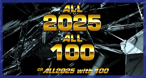 ALL2025 with 100
